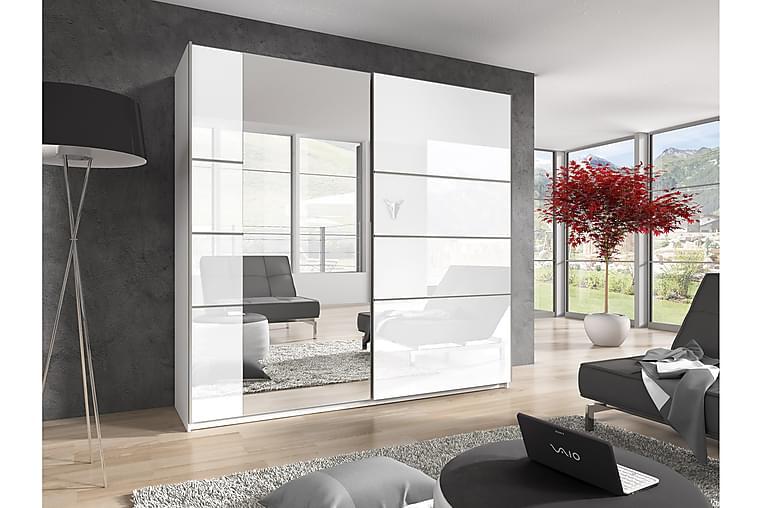 Garderobe Urbina - Hvit - Møbler - Oppbevaring - Garderober & garderobesystem