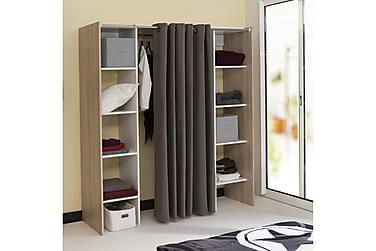 Garderobesystem Gaile Eik/Hvit
