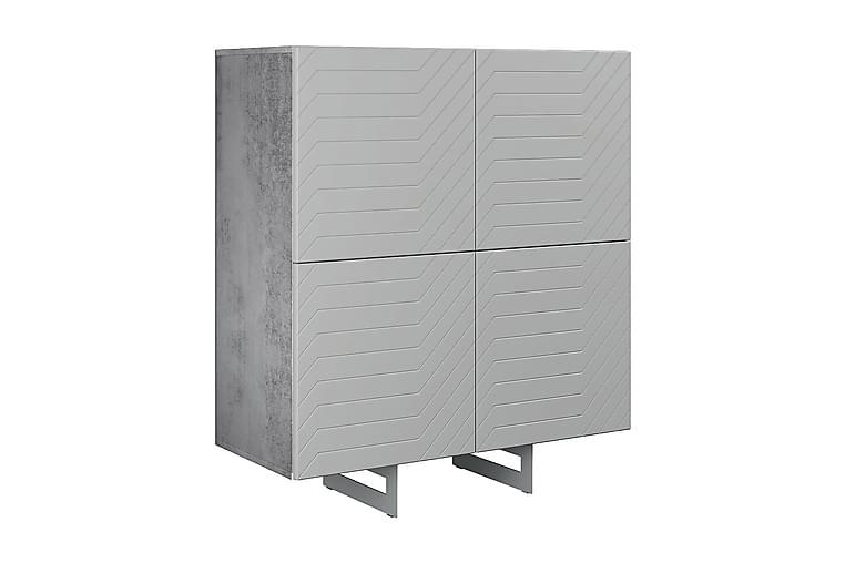 Kommode Itaca 110x45 cm - Mørkegrå - Møbler - Oppbevaring - Kommode