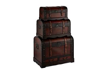 Koffert av Tre Rund Topp Tajana 76/56/66 cm Rund