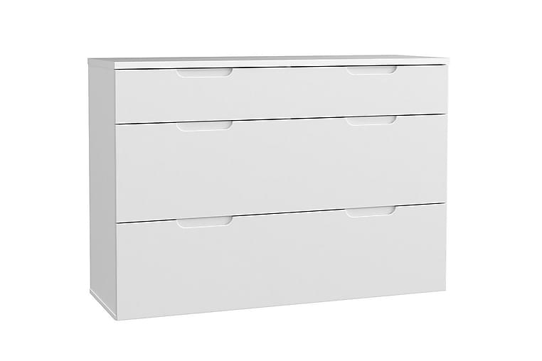 Kommode Wardie 120 cm - Hvit - Møbler - Oppbevaring - Oppbevaringskiste & sengekiste