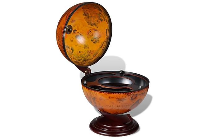 Globus barstativ tre - Orange - Møbler - Oppbevaring - Oppbevaringsskap
