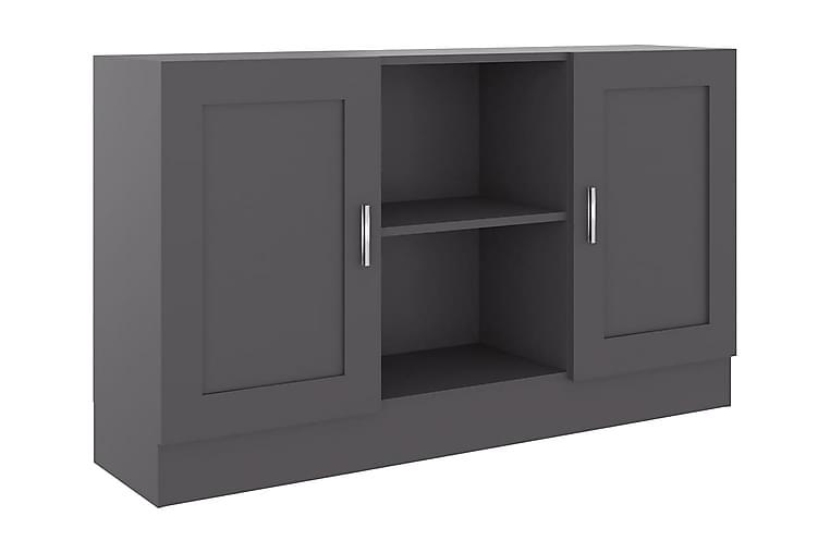 Skjenk grå 120x30,5x70 cm sponplate - Grå - Møbler - Oppbevaring - Sideboard & skjenk