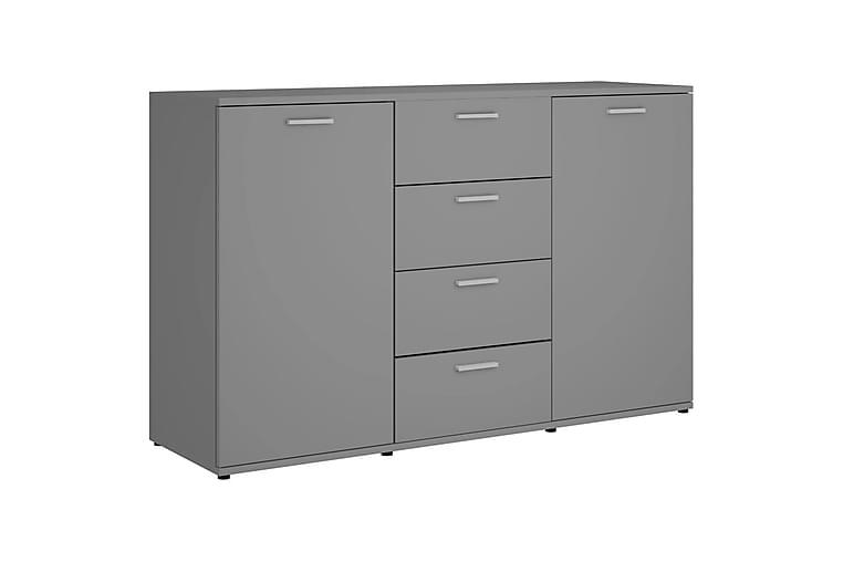 Skjenk grå 120x35,5x75 cm sponplate - Grå - Møbler - Oppbevaring - Sideboard & skjenk