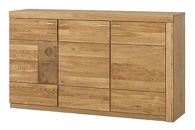 Skjenk Varya 160 cm - Eik - Møbler - Oppbevaring - Sideboard & skjenk