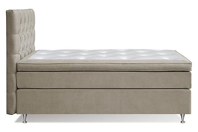 Komplett Sengepakke Paraiso Kontinentalseng 120x200 - Beige - Møbler - Senger - Komplett sengepakke