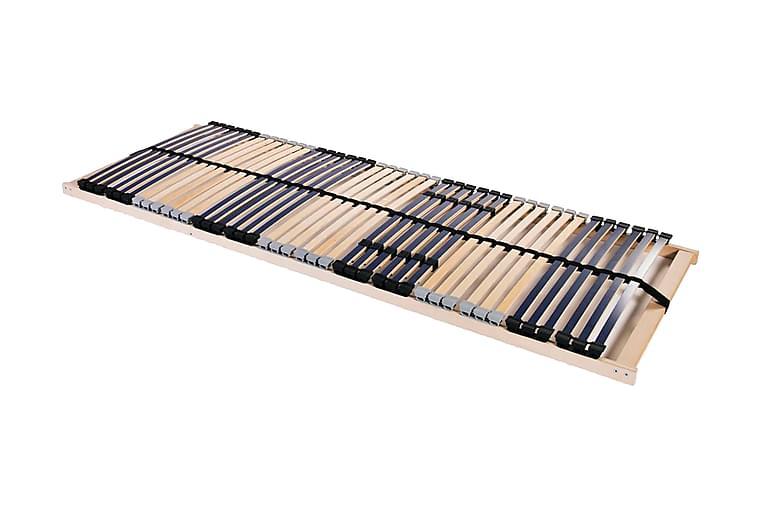 Spilebase med 42 lameller 7 soner 70x200 cm - Blå - Møbler - Senger - Ribbebunn