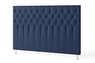 Sengegavl 180 cm Quiltet Marineblå