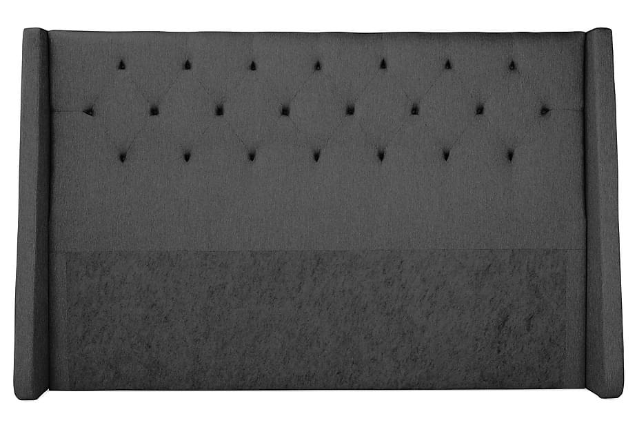 Sengegavl Langham 210 cm Grå