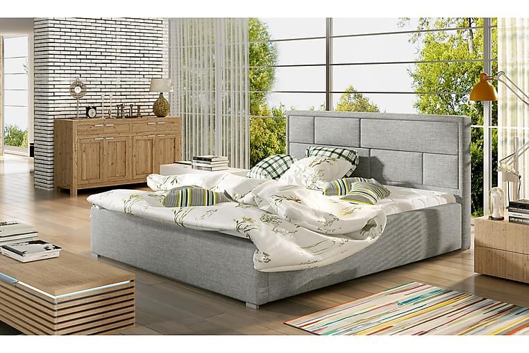 Sengeramme Barronki 180x200 cm - Grå - Møbler - Senger - Sengeramme & sengestamme