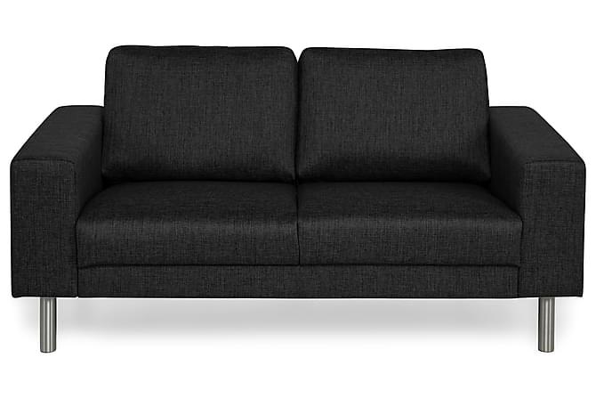 Sofa Erstavik 2-seter - Svart - Møbler - Sofaer - 2-4-seters sofaer