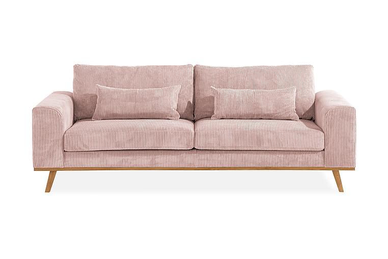 Sofa Haga 3-seter Lin - Møbler - Sofaer - 2-4-seters sofaer
