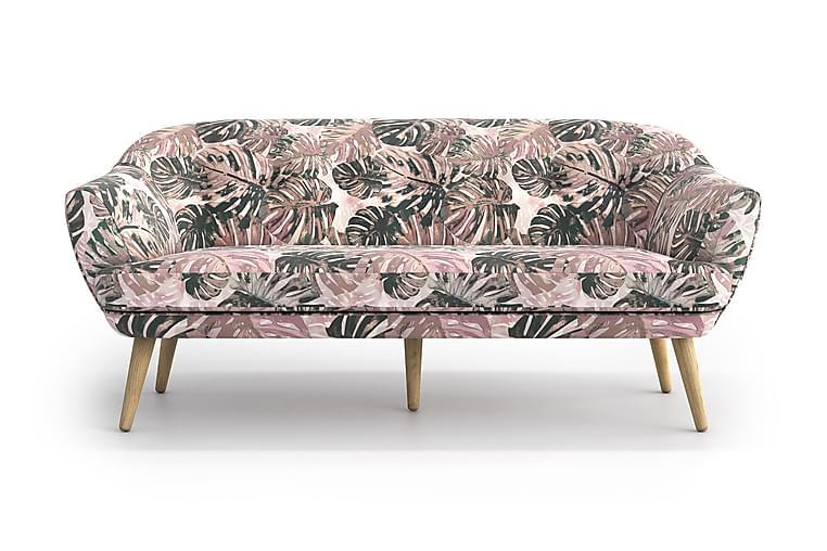Sofa Xiao 3-seter - Flerfarget - Møbler - Sofaer - 2-4-seters sofaer