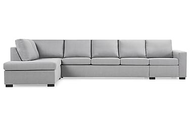 Sofa Nevada 4-seter med Sjeselong Venstre