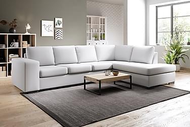 Sofa Sit Down med Sjeselong Large Høyre Kunstlær