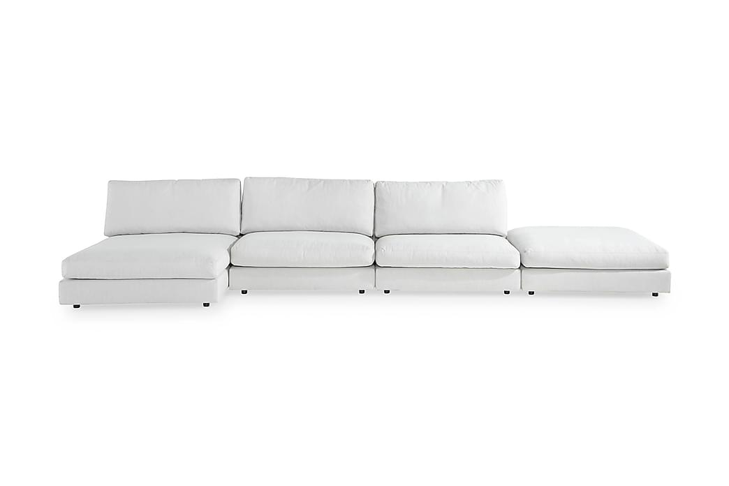 U-modulsofa Aspen med Divan Vendbar - Linbeige - Møbler - Sofaer - Sofaer med sjeselong & U-sofaer