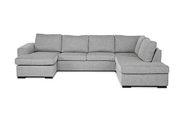 U-sofa Freemont Large med Divan Venstre