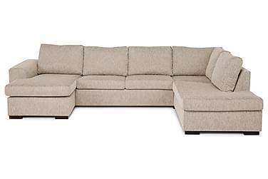 U-sofa Freemont XL med Divan Venstre