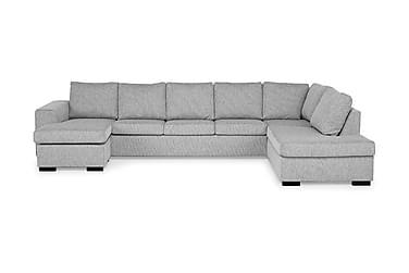 U-sofa Freemont XXL med Divan Venstre