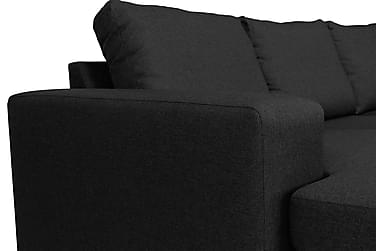 U-sofa Houston Large med Divan Venstre