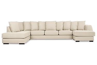 U-sofa Ontario Large med Divan Høyre inkl. Konvoluttputer