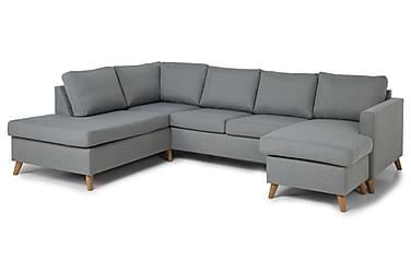 U-sofa Yen med Divan Høyre