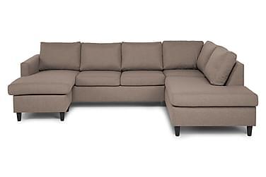 U-sofa Yen med Divan Venstre