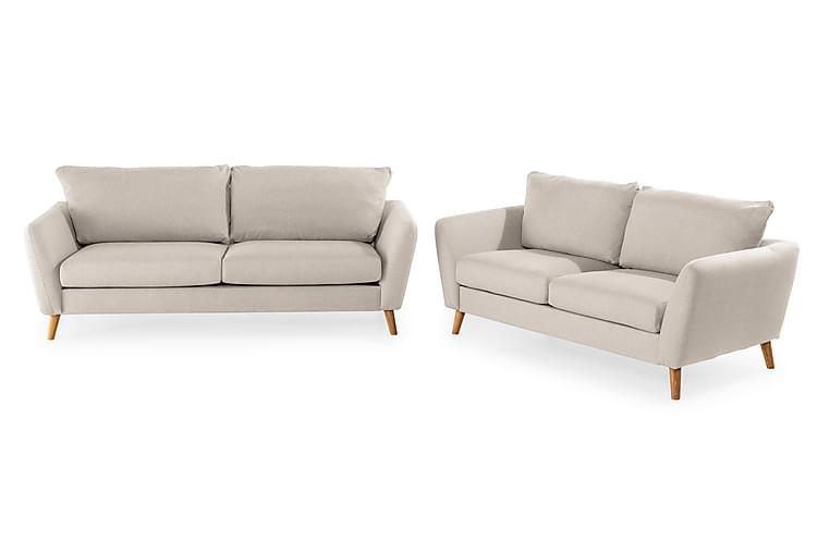 Sofagruppe Colt 3-seter+2-seter - Beige - Møbler - Sofaer - Sofagrupper