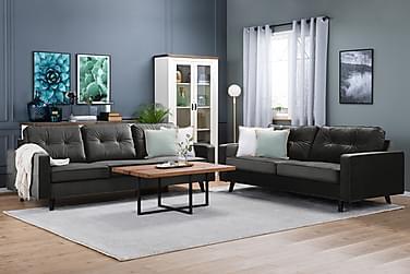Sofagruppe Miller 2,5-seter+3-seter Fløyel