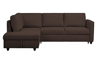 L-Sovesofa Mered Brun