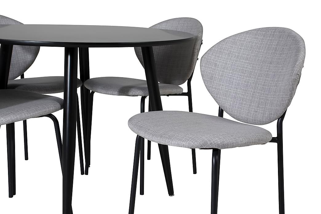 Spisebord Pelle 100 cm med 4 Moncoll Spisestoler - Møbler - Spisegrupper - Rektangulær spisegruppe