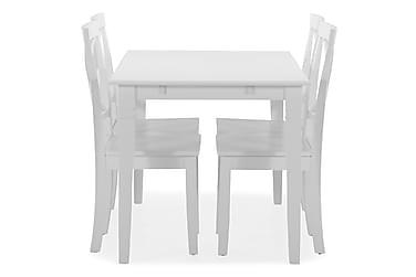 Spisebord Twain med 4 Nadica stoler