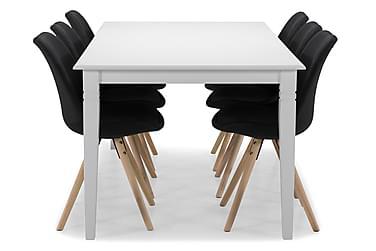 Spisebord Twain med 6 Anton stoler