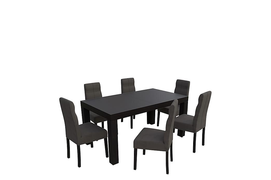 Spisegruppe Kasma - Wenge - Møbler - Spisegrupper - Rektangulær spisegruppe