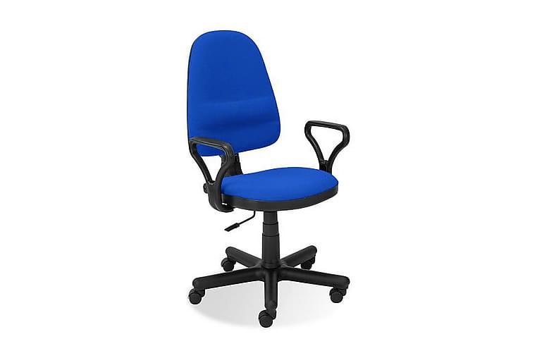 Kontorstol Hilbert - Blå - Møbler - Stoler - Kontorstol & skrivebordsstol