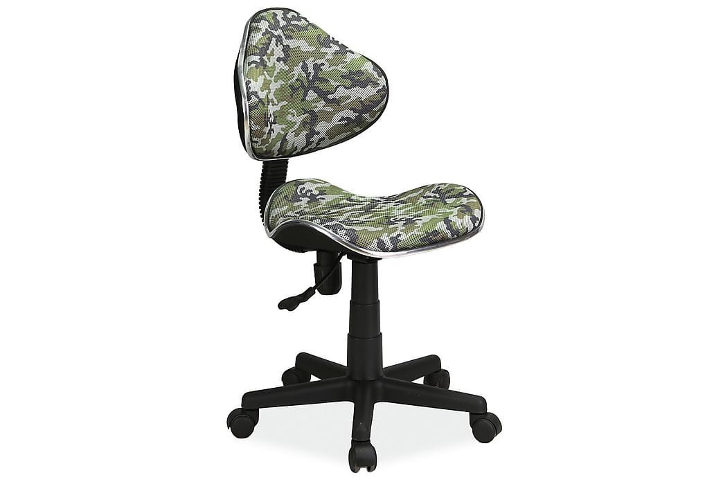 Kontorstol Saukville Justerbar - Grønn - Møbler - Stoler - Kontorstol & skrivebordsstol