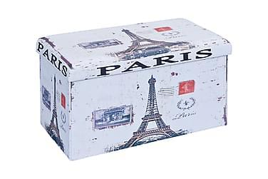 Oppbevaringspuff Telendos Paris