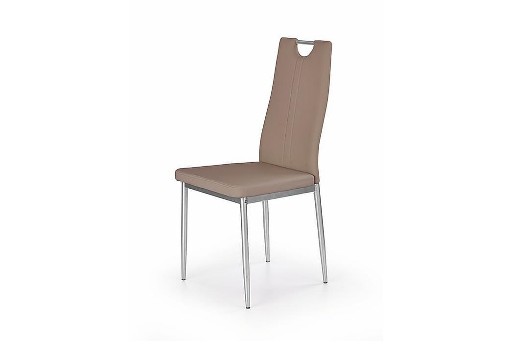 Kjøkkenstol Latrina Konstläder - Lysbrun - Møbler - Stoler - Spisestuestoler & kjøkkenstoler