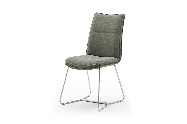 Spisestol Juwan 48 cm - Oliven - Møbler - Stoler - Spisestuestoler & kjøkkenstoler