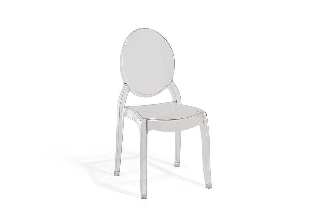 Stol Merton 2-pk - Transparent - Møbler - Stoler - Spisestuestoler & kjøkkenstoler